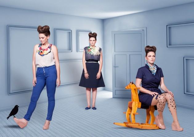 איפור ותסרוקות לקטלוג אופנה נתי מור